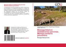 Portada del libro de Bioseguridad en instalaciones porcinas. Manejo sanitario preventivo