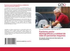 Portada del libro de Factores socio-demográficos y calidad de vida en personas mayores