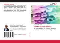 Capa do livro de Informática cuántica