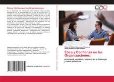 Couverture de Ética y Confianza en las Organizaciones: