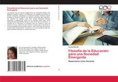 Capa do livro de Filosofía de la Educación para una Sociedad Emergente