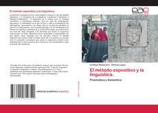 El método expositivo y la linguistica.的封面
