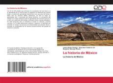 Borítókép a  La historia de México - hoz