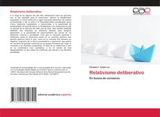 Buchcover von Relativismo deliberativo