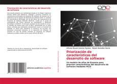 Bookcover of Priorización de características del desarrollo de software