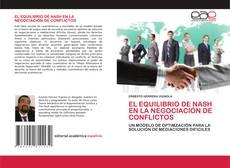 Capa do livro de EL EQUILIBRIO DE NASH EN LA NEGOCIACIÓN DE CONFLICTOS