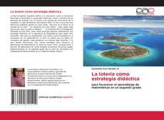 Capa do livro de La lotería como estrategia didáctica