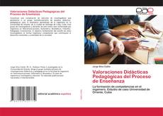 Buchcover von Valoraciones Didácticas Pedagógicas del Proceso de Enseñanza