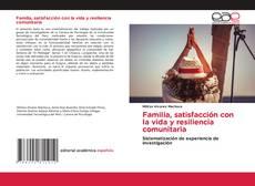 Buchcover von Familia, satisfacción con la vida y resiliencia comunitaria