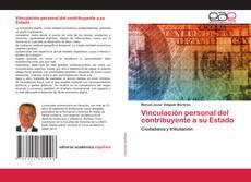 Buchcover von Vinculación personal del contribuyente a su Estado