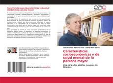 Portada del libro de Características socioeconómicas y de salud mental de la persona mayor
