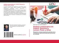 Bookcover of Análisis comparativo de: Cottrill, Swinyard y Larsen, Pons, y Arias