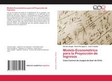 Capa do livro de Modelo Econométrico para la Proyección de Ingresos