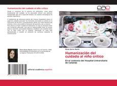 Обложка Humanización del cuidado al niño crítico