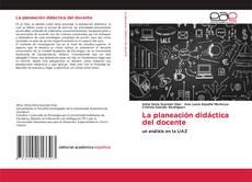Capa do livro de La planeación didáctica del docente