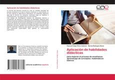 Bookcover of Aplicación de habilidades didácticas