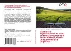 Portada del libro de Vivencias y significaciones de salud en familias mapuche del sector Makewe, desde una aproximación biográfica