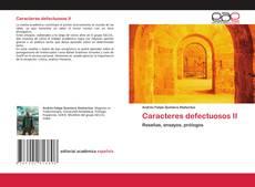 Borítókép a  Caracteres defectuosos II - hoz