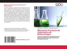 Bookcover of Manual de Prácticas de Laboratorio de Biotecnología.