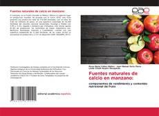 Bookcover of Fuentes naturales de calcio en manzano: