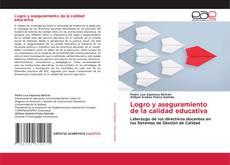Capa do livro de Logro y aseguramiento de la calidad educativa
