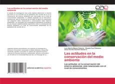 Buchcover von Las actitudes en la conservación del medio ambiente