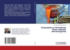 Обложка Сырьевая и топливная база чёрной металлургии