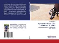 Bookcover of Rights of Persons with Disabilities in Kenya