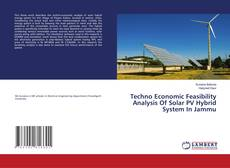 Bookcover of Techno Economic Feasibility Analysis Of Solar PV Hybrid System In Jammu