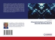 Capa do livro de Characterizations of Various Discrete Distributions II