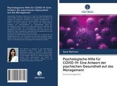 Copertina di Psychologische Hilfe für COVID-19: Eine Antwort der psychischen Gesundheit auf das Management