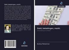 Capa do livro de Geld, belastingen, markt.
