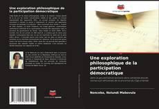 Une exploration philosophique de la participation démocratique kitap kapağı