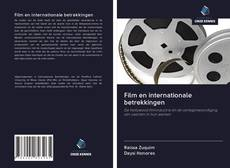 Film en internationale betrekkingen kitap kapağı