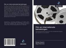 Buchcover von Film en internationale betrekkingen