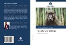 Bookcover of Literatur und Ökologie
