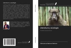 Couverture de Literatura y ecología