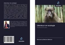 Bookcover of Literatuur en ecologie