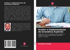 Capa do livro de Avaliar a Implementação da Gramática Explícita