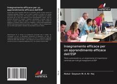 Buchcover von Insegnamento efficace per un apprendimento efficace dell'ESP