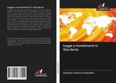 Portada del libro de Legge e investimenti in Giordania