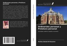 Bookcover of Ordinariato personal y Prelatura personal