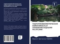Buchcover von ГИДРОПЛЮВИОМЕТРИЧЕСКАЯ ИЗМЕНЧИВОСТЬ И УПРАВЛЕНИЕ ВОДНЫМИ РЕСУРСАМИ