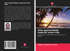 Capa do livro de Uma oportunidade especial numa vida