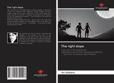 Bookcover of The right slope