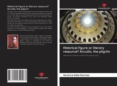 Couverture de Historical figure or literary resource? Arculfo, the pilgrim