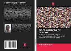 Capa do livro de DISCRIMINAÇÃO DE GÉNERO