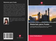 Portada del libro de Materiais para Fusão