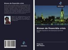 Capa do livro de Binnen de financiële crisis