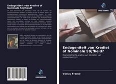 Endogeniteit van Krediet of Nominale Stijfheid?的封面